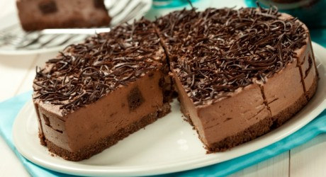 GF Belgian Chocolate Cheesecake (Whole LR)