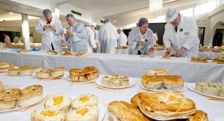 Judging at the Scotch Pie Club Awards