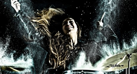 RCS Drummer Lauren Macdonald - Credit RCS-KK Dundas