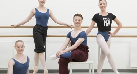RCS Genee Ballet Students