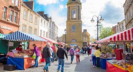 Falkirk Town Centre_image credit Brian Vass