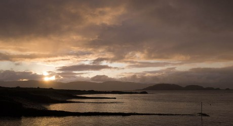 UK - Argyll - Sunset Over Mull