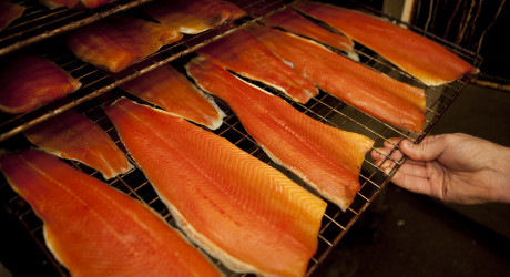 Barony Country Foods smoking salmon Credit Savour the Flavours