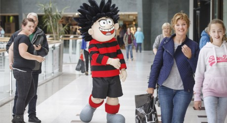 Dennis the Menace intu Braehead Glasgow