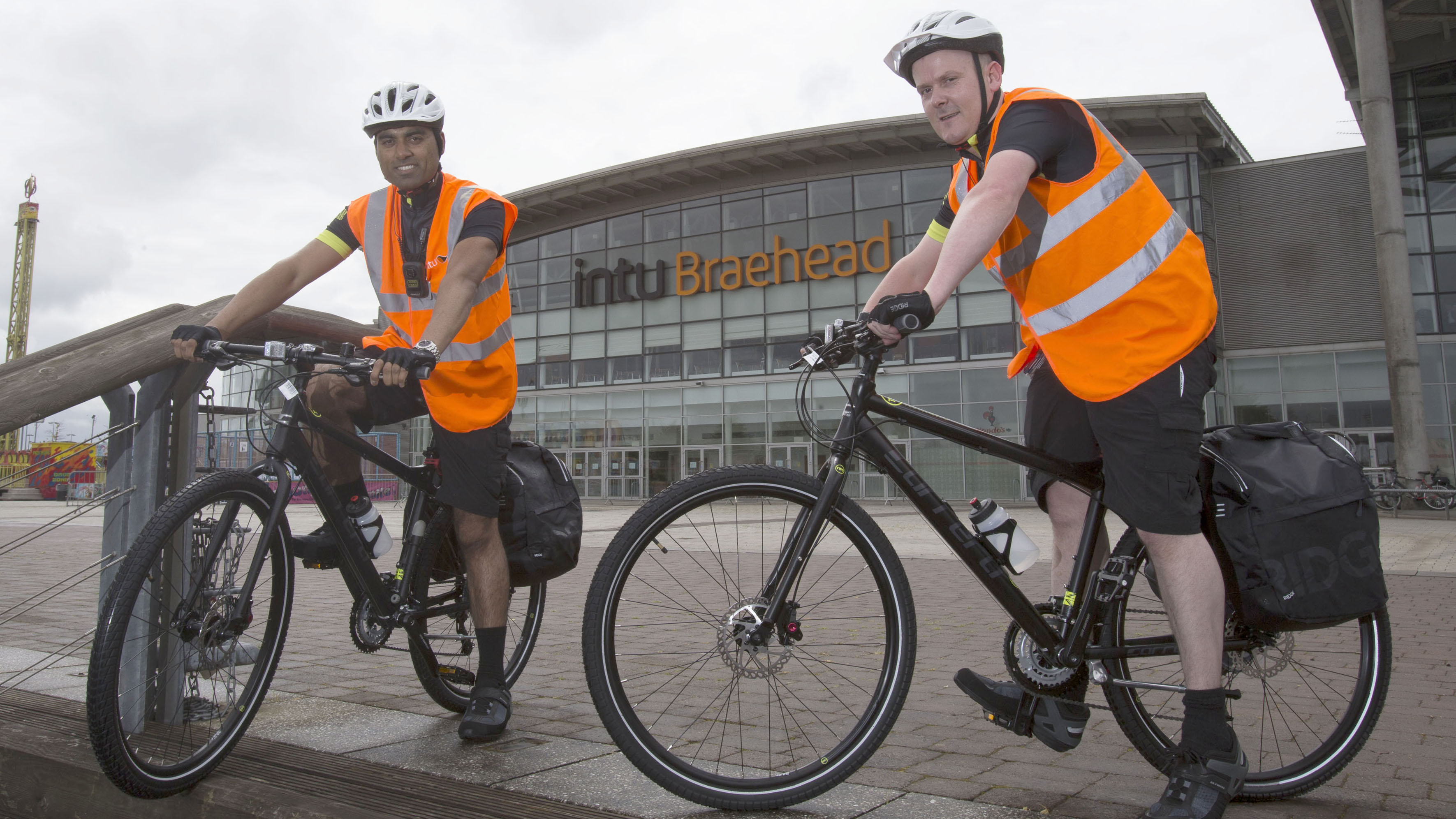 Media release: intu Braehead shopping mall launches bicycle patrols