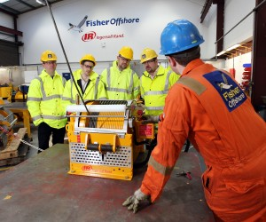FISHER OFFSHORE WINCH TRAINING.PIC KAREN MURRAY
