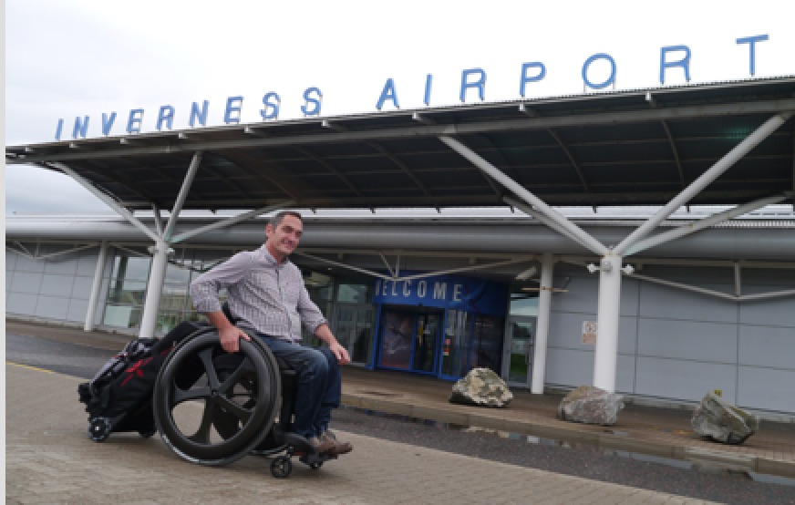 Media release: Scots wheelchair inventor aims to bring travel independence, with new invention