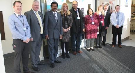 Ayrshire College visit