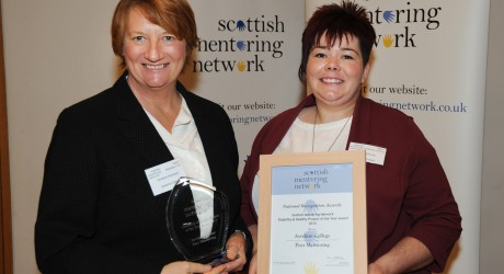 Disability & Health Project of the Year 2015 - Ayrshire College