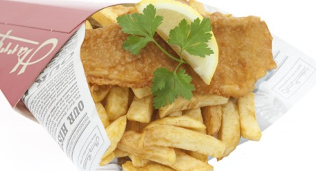 Fish n Chips Cone 600x600