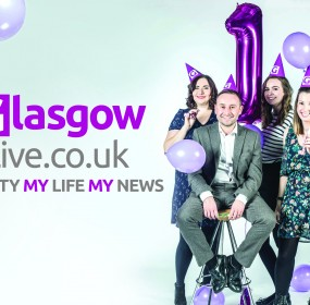 Glasgow Live 1st Birthday Landscape
