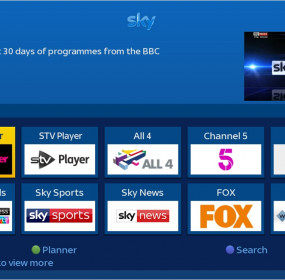 STV Player launches on Sky