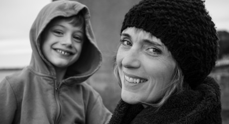 Wee Seeds Founder Christina Cran and son Fin, aged 7 - October 2019