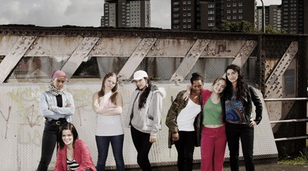 Cast of Glasgow Girls