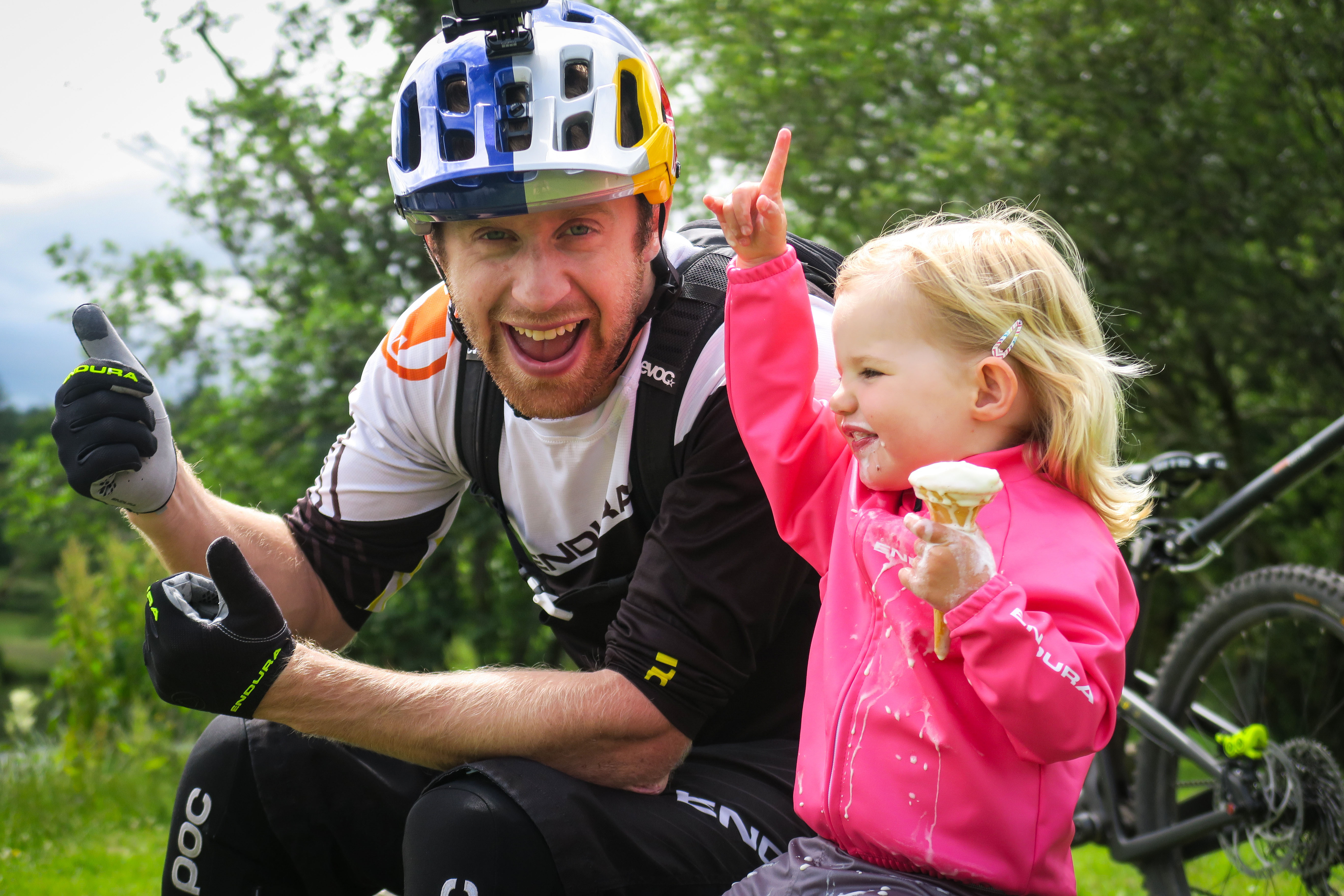 Media release: Danny MacAskill's new online video, 'Danny Daycare'; best 'uncle' ever?