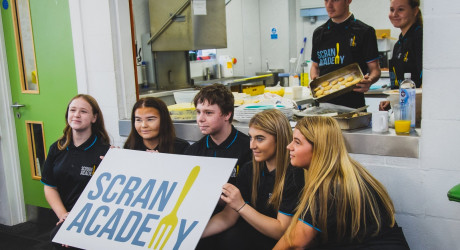 Group of Scran Young Participants (13-17)