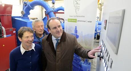 Nevis Range Hydro Project - Marian Austin, Ian Sykes, Minister Paul Wheelhouse