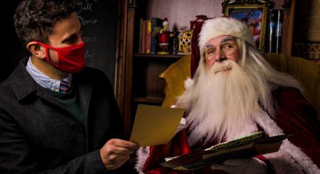 Geoff with Santa