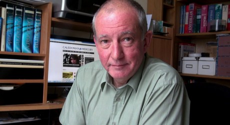David Calder, editor, Caledonian Mercury, Scotland's online newspaper