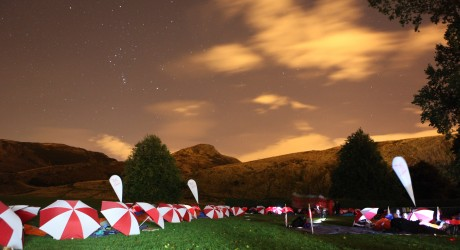 A starry night at Byte Night Scotland