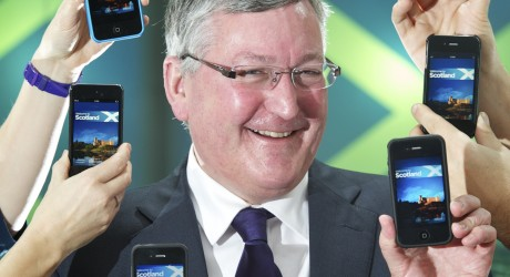 Technology Puts Scotland on the M-App