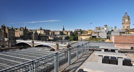 Princes Street Suites Roof Terrace 2