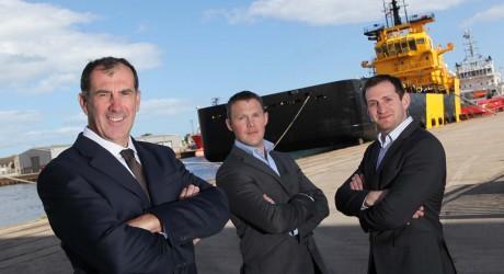 Ecosse Subsea personnel, in Aberdeen