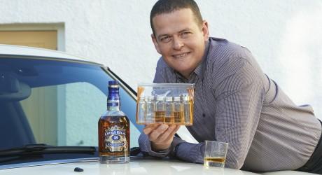Drivers tasting kit, Chivas Rikki Scott, Aberlour Distillery