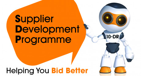 SDP robot logo