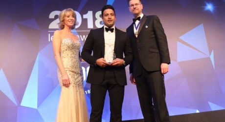 KId Harwood at Birmingham Law Society Awards 2018