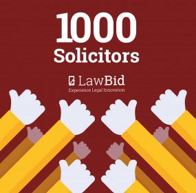 LawBid 1000 thumbs up