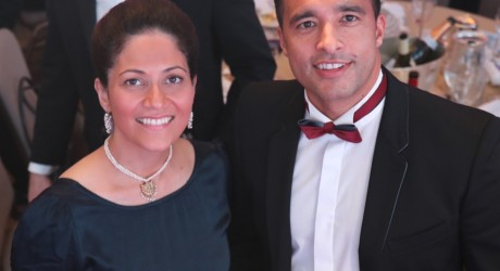 Mishal Husain and Kid Harwood