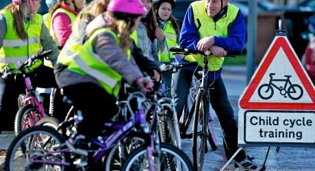 World champ launches bikeability scotland