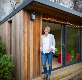 Melanie Russell, Director of Outside in Garden Rooms