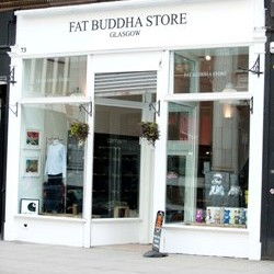 Fat Buddha Store, St Vincent Street,Glasgow. Photo by Stephen Hughes.