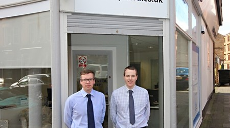 Andrew Neil and Alan Fleming allmedia