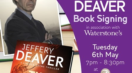 Ave Book Signings - Jeffery Deaver-AW-OFFSITE allmedia