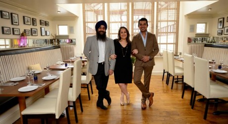 Chef Dali, Nazreen Aksi and Chetain Parmar allmedia