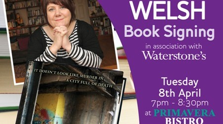 Louise Welsh Book Signing allmedia
