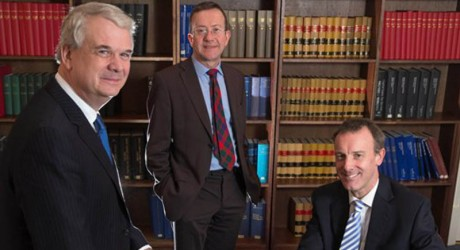 (LtoR) David Collier, Barry Laurie and Alastair Thomson allmedia
