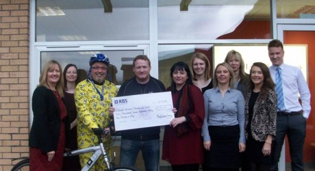 Macfarlane Gray staff present cheque to Eilidh Brown Memorial Fund allmedia