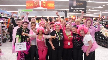 Tickled Pink at ASDA at the Avenue Shopping Centre Newton Mearns allmedia