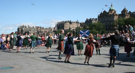 Scottish Dancers at the Mound 2