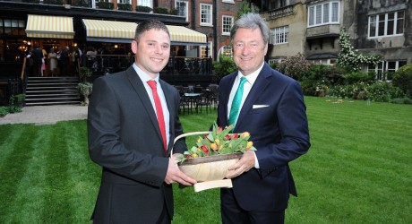 Alan Titchmarsh and Andrew Glaister