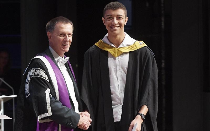 Media release: Avoch student selected for care award