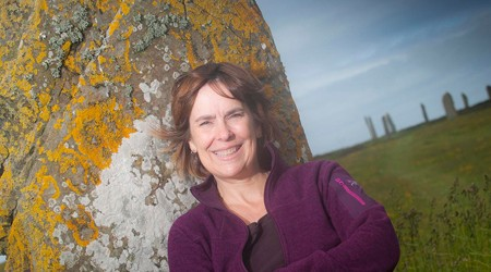 Professor Jane Downes,Dept of Archaeology UHI Orkney
