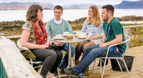 Stock Photography at Sabhal Mor Ostaig UHI, Skye, April 2015