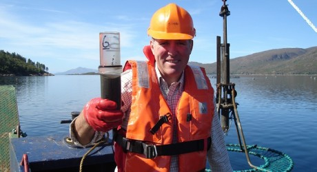 Professor Kenneth Black at Loch Kishorn