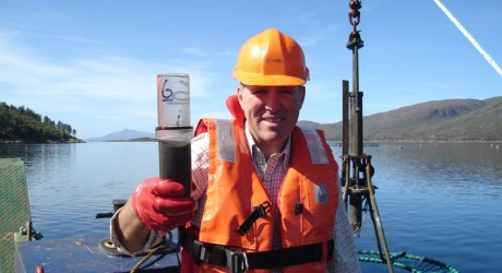 Professor Kenneth Black at Loch Kishorn_AM