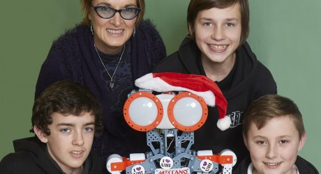 Inverness High School Robot,UHI Competition